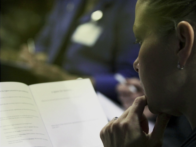 Participant at our 5th Knowledge Exchange Forum 'Collaboration and Advocacy'.